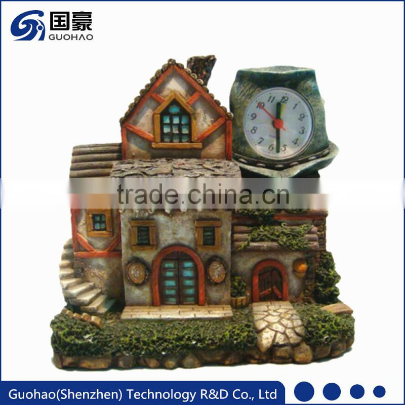 Professional latest Factory Price sun shaped table clock