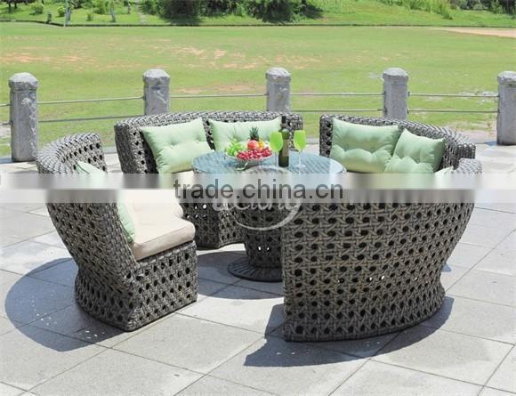 Bali Island Holiday Style Outdoor Wicker Furniture Rattan Sofa Philippines Manila