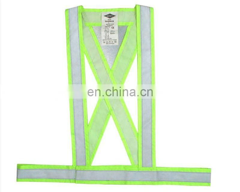 100% polyester High visible safety belt