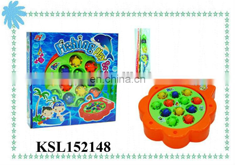 children plastic toy fishing play set for kids