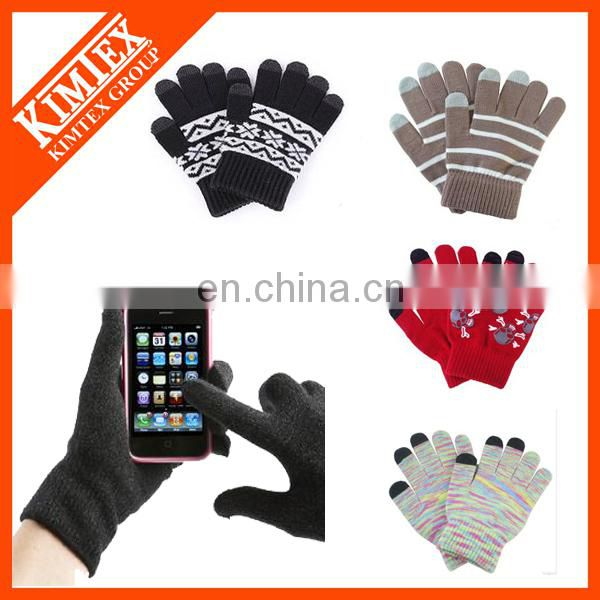2016 Christmas winter touch gloves