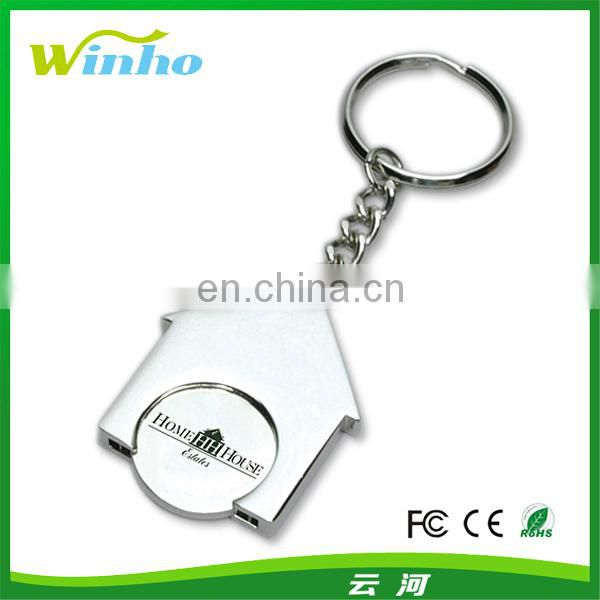 Personalised Trolley Token Keyring