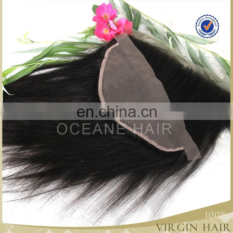 Virgin indian temple lace frontals with baby hair