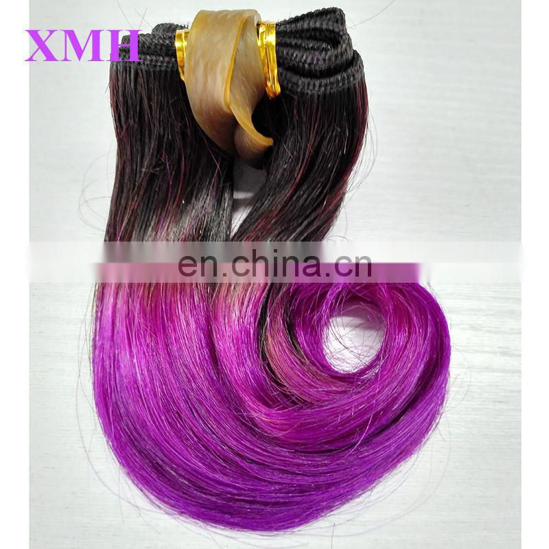 China Supplier Large Stock Virgin Brazilian Ombre Hair Extensions Black Women Short Hair Styles