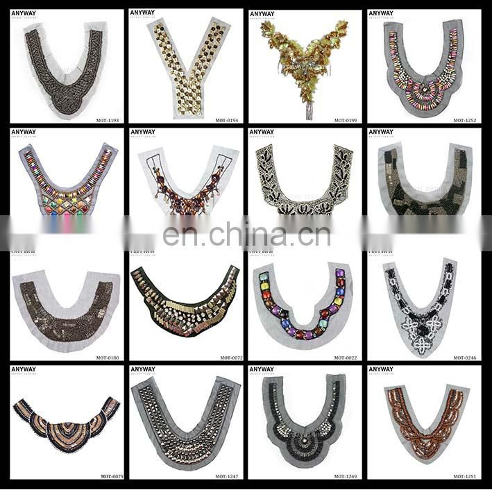 Standard beaded neckline;economical beaded neckline;famous beaded neckline