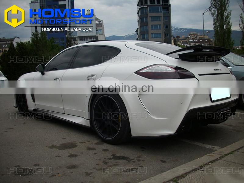 FRP+CARBON Wide body kit for 2010-2013 Panamera 970 MSY style new body kit for Panamera 970 body kit