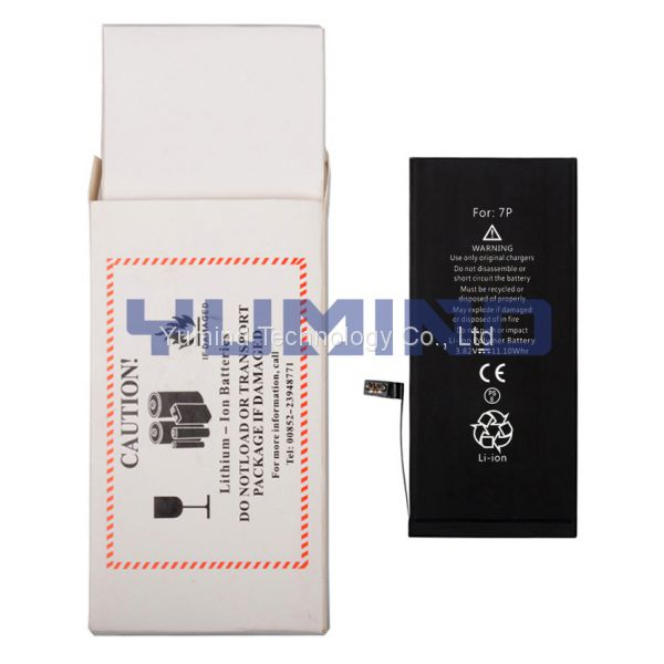 AAA Lithium-ion Built-in iPhone 7 Plus Battery Mobile Phone Batteries Factory Price Brand New Image