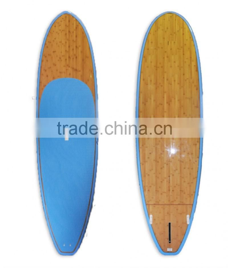 Surfing board / EPS foam core paddleboard bamboo fiber board