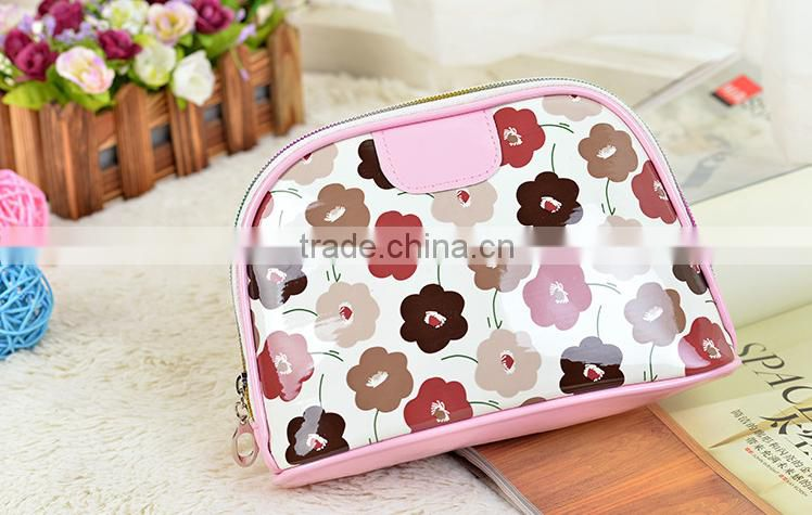 Wholesale Custom Waterproof Leather Makeup Travel Toiletry Promotional Fashion Cosmetic Bags