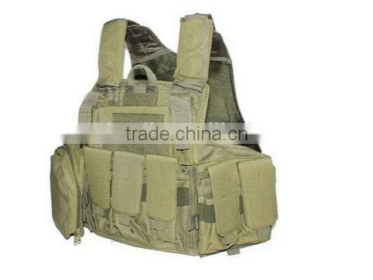 Outdoor large camouflage army military tactical vest