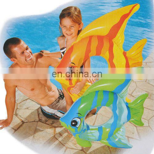 Inflatable Kids Fish shaped Swim Ring