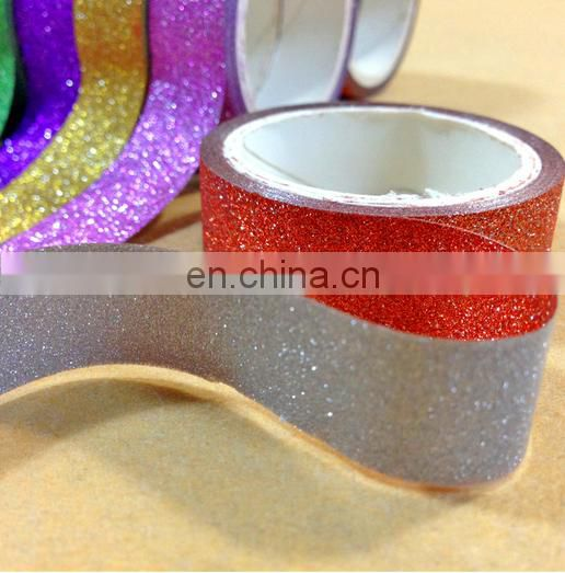 party gift wrapping glitter sparkle washi tape