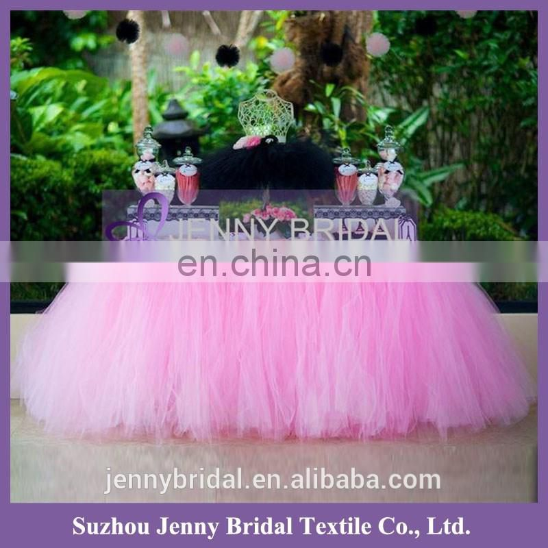 TC091 african tulle lace fabrics for party tutu tulle table skirt