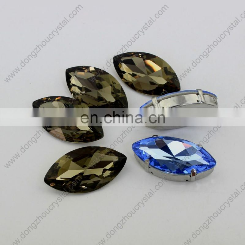 2015 wholesale Horse eye glass stones