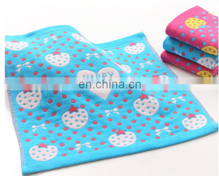 China factory wholesale three layers of gauze cotton hand towel
