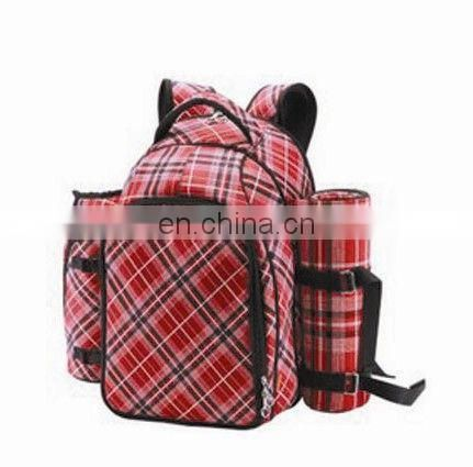 Stool backpack for picnic