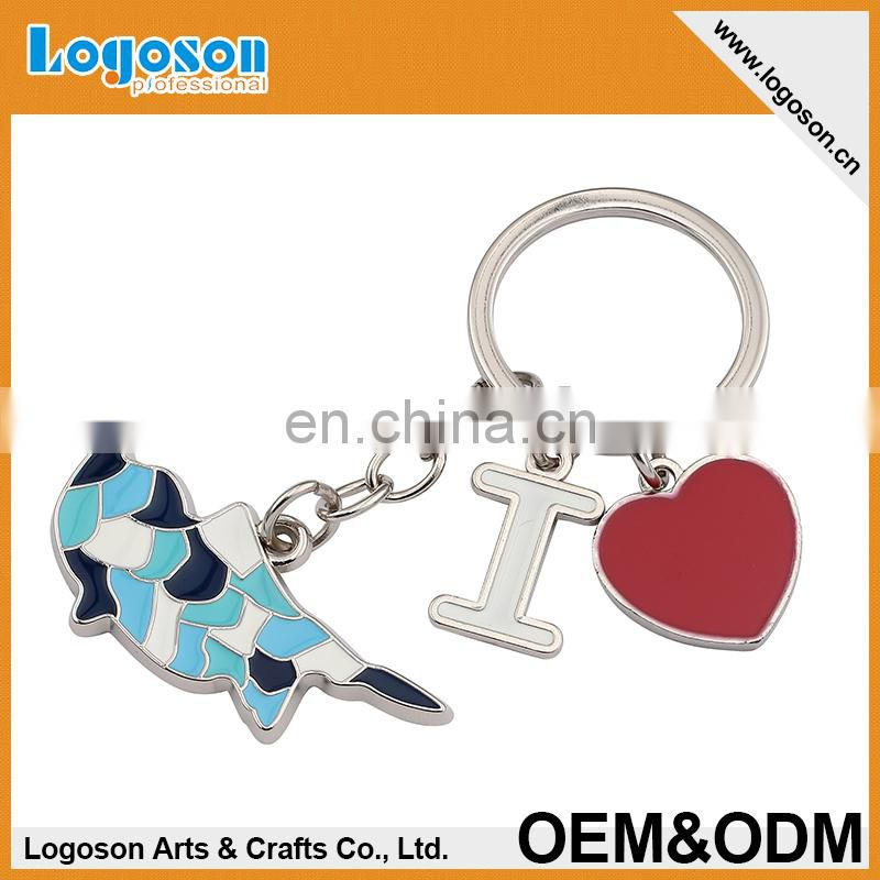 Engraving Custom Metal Key Chains For Tourism Souvenir