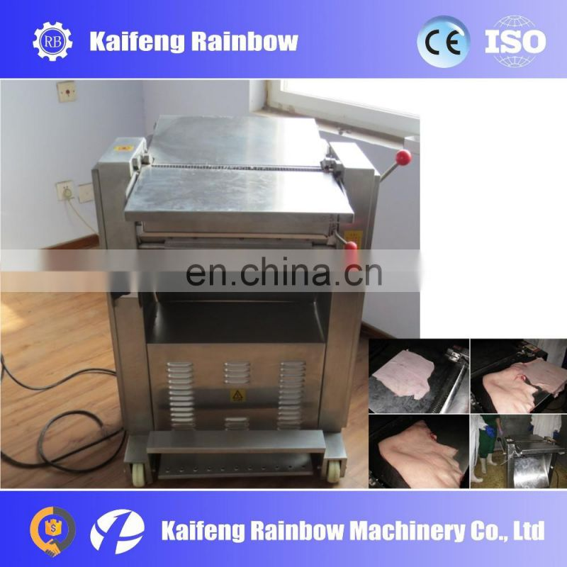 Hot Sale Good Quality  Pork Meat Peeling Skin Removing Machine meat skin separate machine