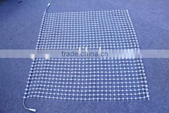 Flex Mesh LED Screen Soft Mesh LED Curtain for Indoor and Outdoor Use