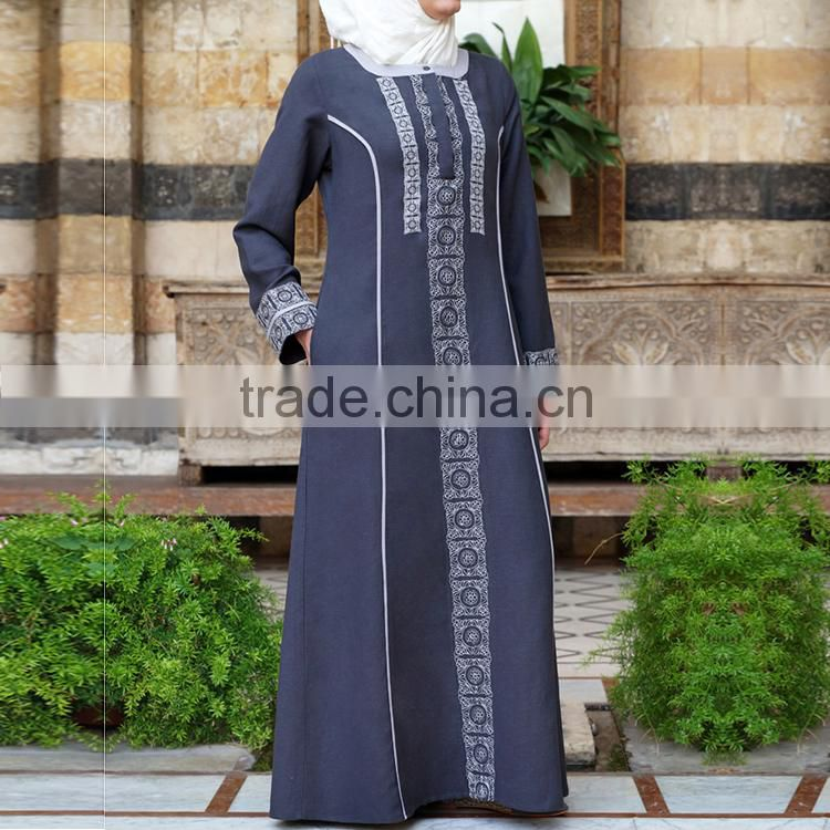 Oem women clothing traditional wear latest design fashion baju kurung modern