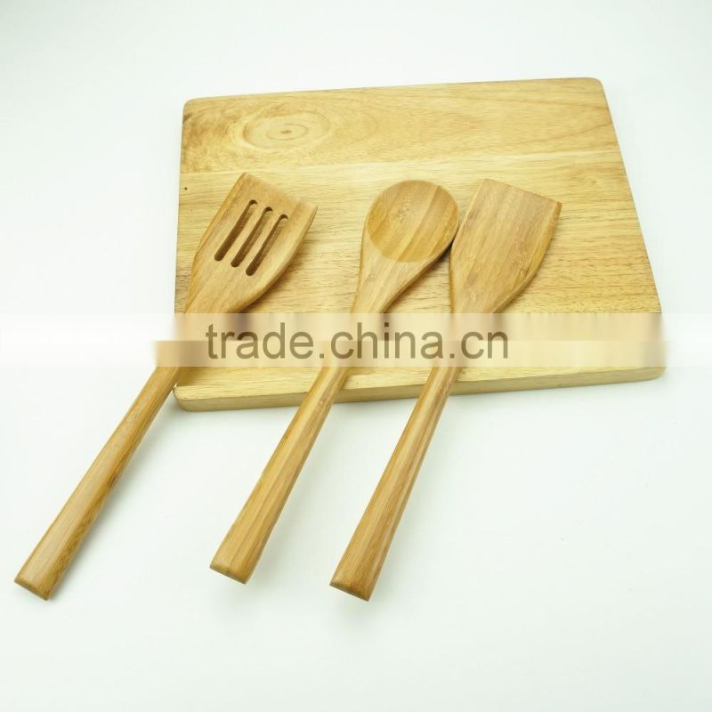 22026 High quality bamboo kitchen utensil set