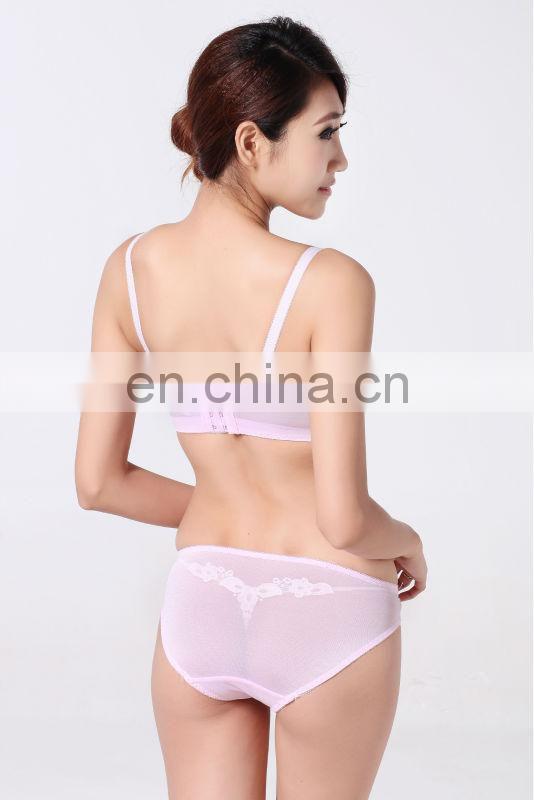 Women underwear latest hot fashion pink sexy bra & string ...