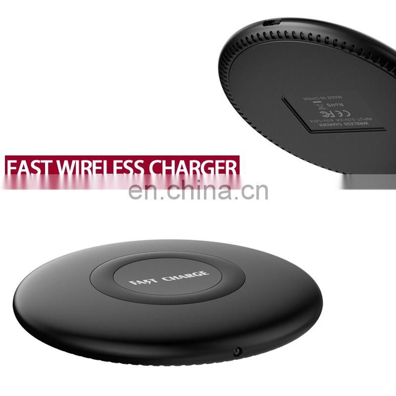 Qi Wireless Charging Pad for iPhone X Wireless Charger, for Note 8 Wireless Charger OEM LOGO