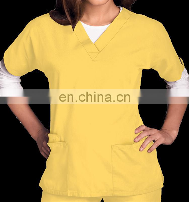 Workwear Scrubs Women's Three Pocket Top