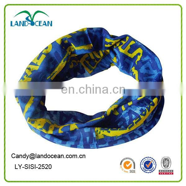 Wholesales Hot sale Custom China multicfunctional seamless bandanas for sports