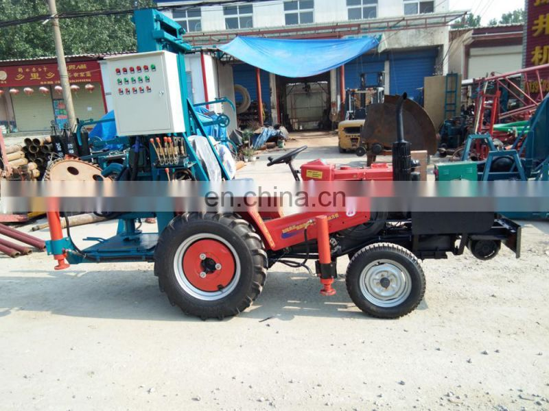 simple bore water well drilling machine rig 300m deep