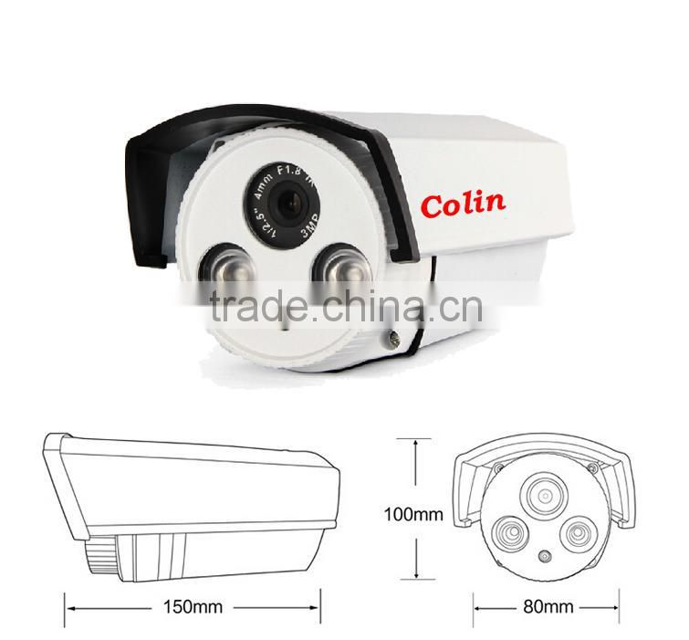 Brand new 960p 1.3mp hd coaxial ahd camera support ODM