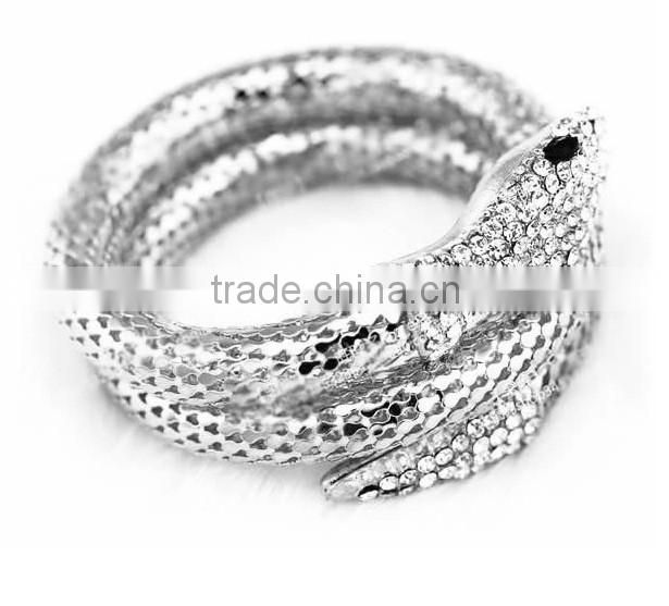 Alli express more strands of snake fashion bracelets