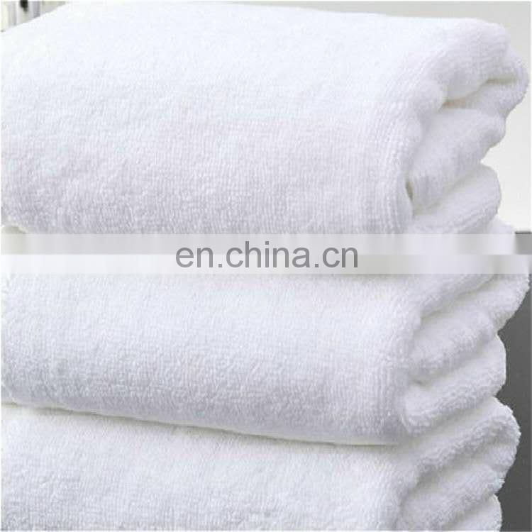 Best selling plain design pure white 100% cotton hand towel