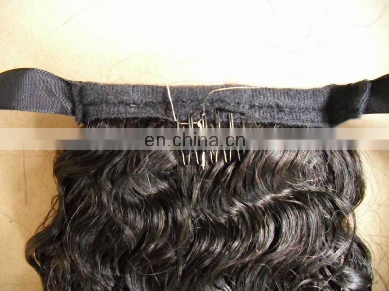 hot sale high quality remy pony tail hair