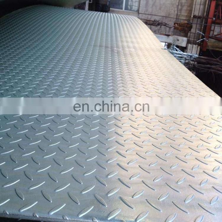 Hot rolled steel plate 1 inch thick / checkered steel plate / steel plate a36