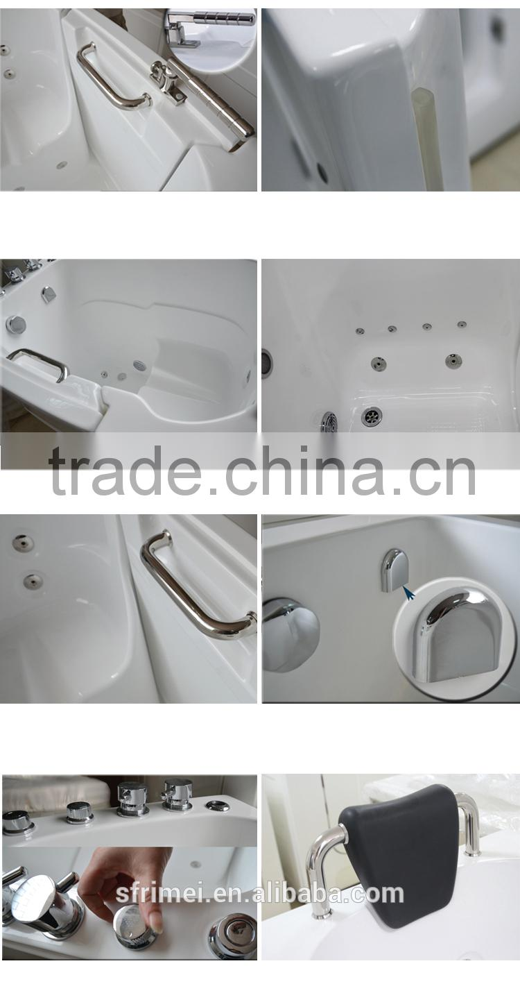 Acrylic Cheap Soaking Elderly Bathtub For Old People And Disabled ...