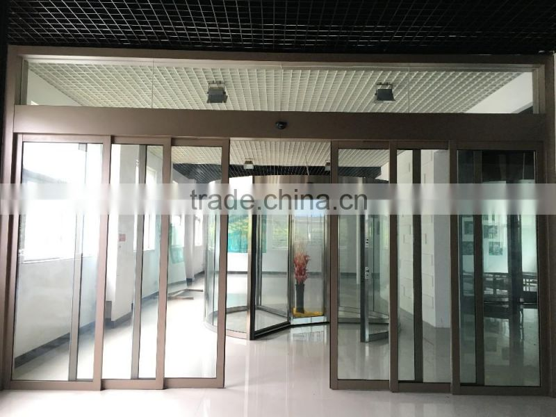 Telescopic Automatic Sliding Glass Doors Operator Of Telescopic