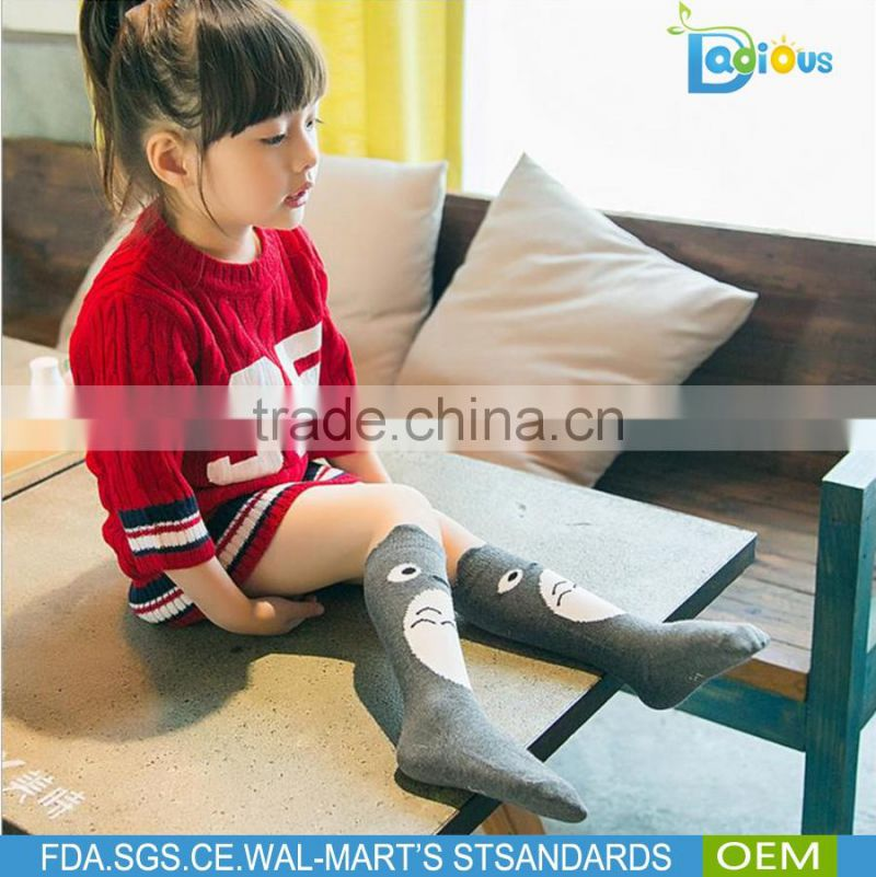 Wholesale Girl Teen Tube Made Single Use Knee High Children Socks Soft Touch Thermal Baby Socks