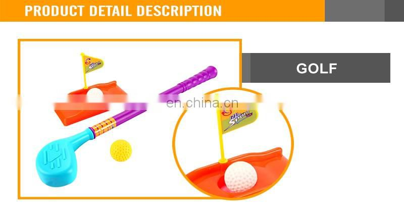 Plastic Kids Golf Toy Set For Sale Outdoor Golf Set Toy