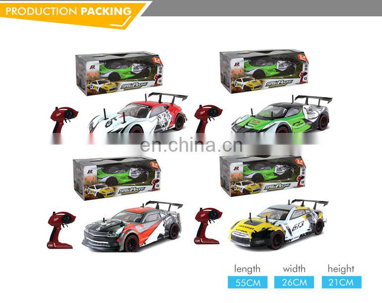 2.4G top quality plastic high speed rc cars 1/10 electrics