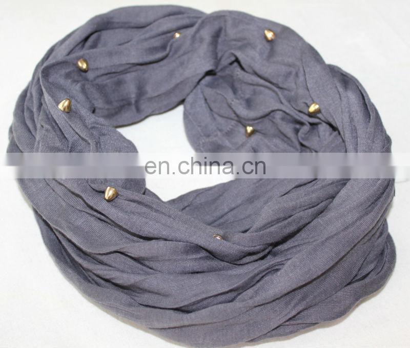silver scarf jewelry scarf tube jewelry magic tube scarf (KRP-002)