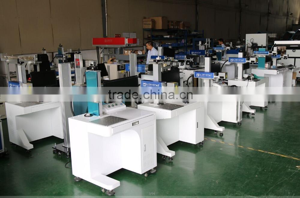 desktop type portable mini laser marking co2 laser marking for hanger, bamboo, shoe sole, strap