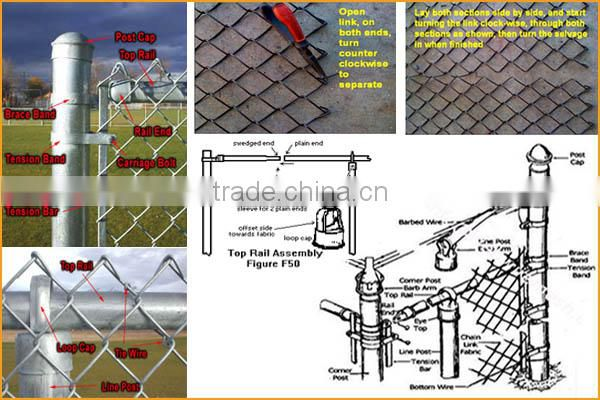 Cheap chain link fencing (China factory)