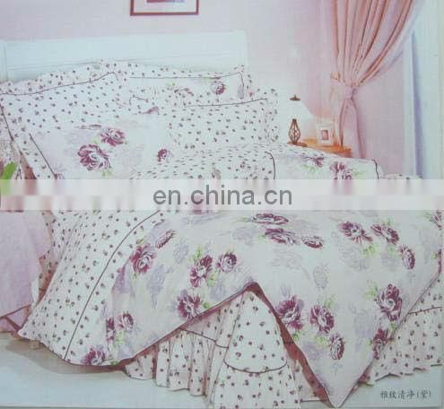 Fluffy warm Polyester and Cotton filled bedding
