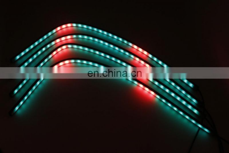 car colorful RGB network lights breathing light