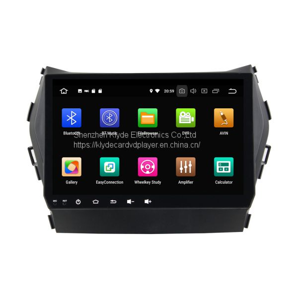 0274148ca7f0 KD-9605 android 8.0 8core Car gps navigation auto radio dvd Player for IX45    Santa Fe 2013-2014 Image