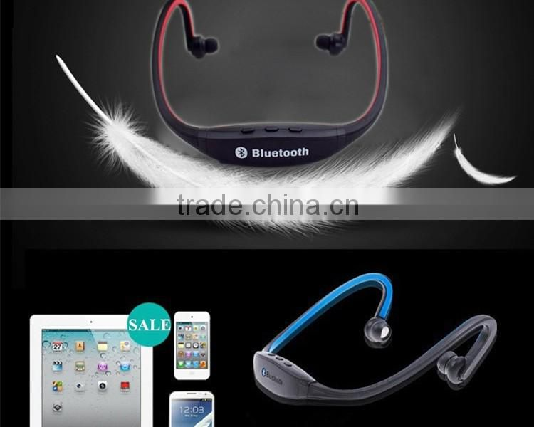S9 Stereo Headset Sports Bluetooth Speaker Headset Wireless Neckband Headphones In Ear Earphone Hifi Music Player For iPhone6s