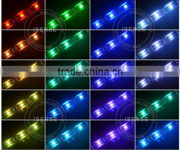 Hottest products!! auto led light led 5050 smd rgb strip 60/90/120/500cm best selling car accessories