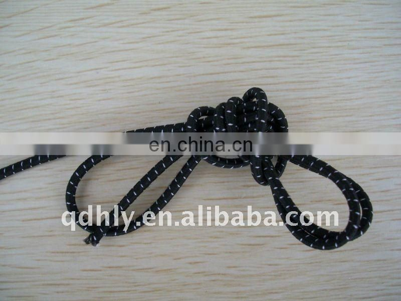 high tenacity black elastic bungee strings
