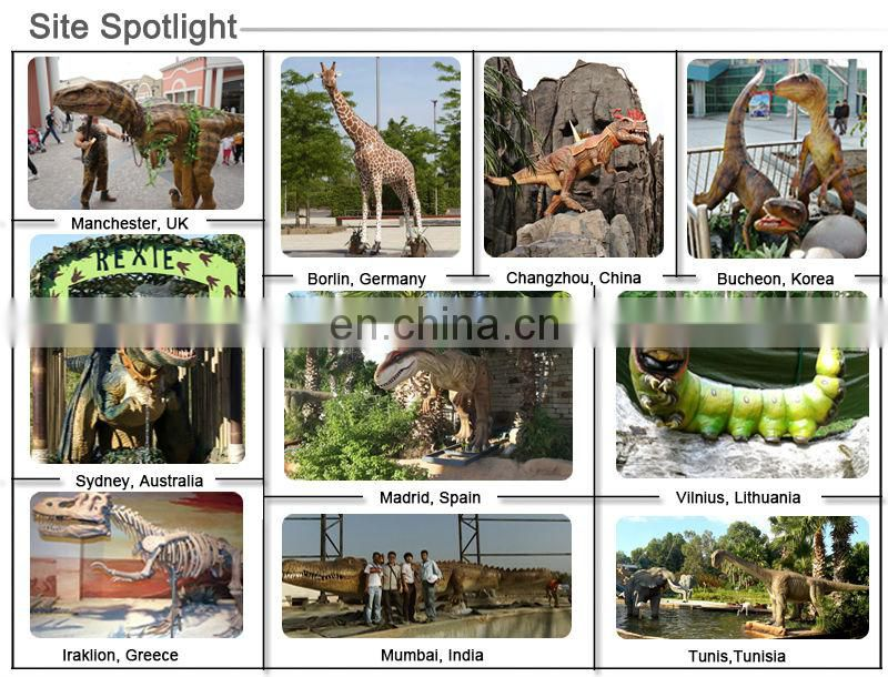 Jurassic World Life-Size Real Artificial Dinosaur in Dino World